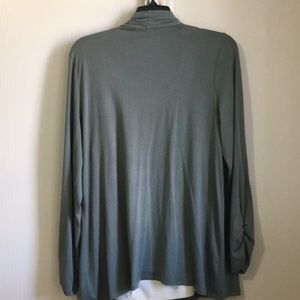 I.N. Studio Tops - Cute cardigan with under shirt attached!